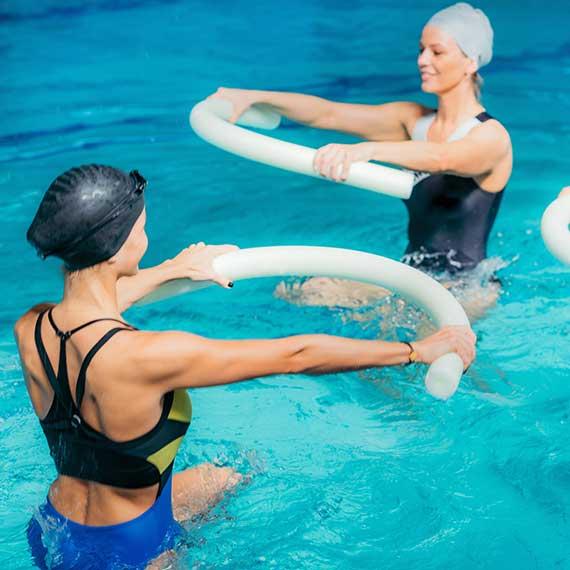 Aqua-Fitness im Gesundheitszentrum Kreuth
