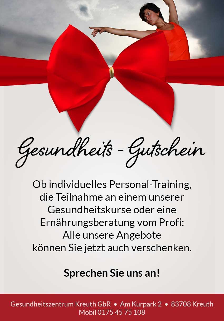 Geschenkgutschein verschenken