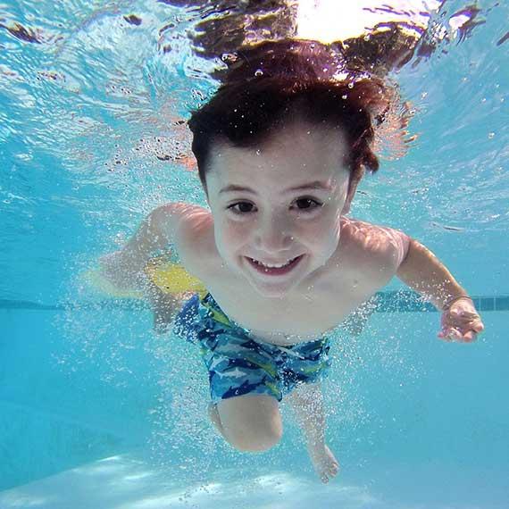 Kinderschwimmen im Gesundheitszentrum Kreuth