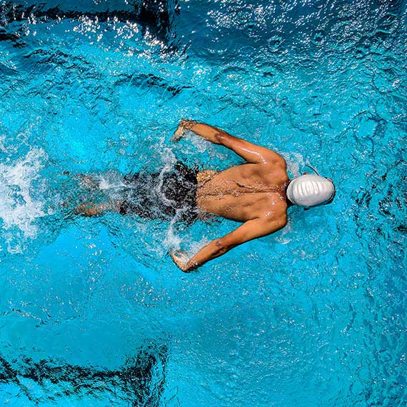 Schwimmtraining im Gesundheitszentrum Kreuth
